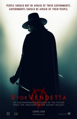 "Постер к фильму ""V значит вендетта"" /V for Vendetta/ (2005)"