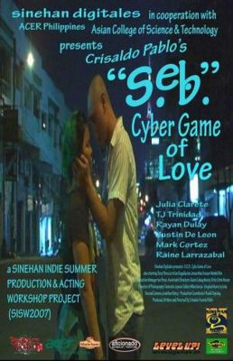 """Постер к фильму """"Виртуальная игра в любовь"""" /SEB: Cyber Game of Love/ (2008)"""