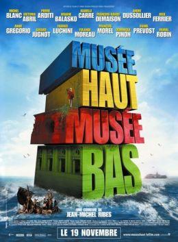 """Постер к фильму """"Высокий музей, низкий музей"""" /Musee haut, musee bas/ (2008)"""