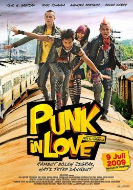 """Постер к фильму """"Влюбленный панк"""" /Punk in Love/ (2009)"""
