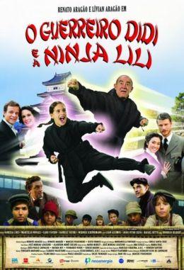 """Постер к фильму """"Воин Диди и ниндзя Лили"""" /O Guerreiro Didi e a Ninja Lili/ (2008)"""