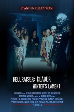 """Постер к фильму """"Восставший из ада: Плач Уинтера"""" /Hellraiser: Deader - Winter's Lament/ (2009)"""
