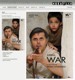 """Постер к фильму """"Война"""" /Uerra/ (2009)"""