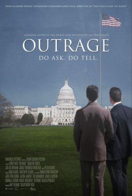 """Постер к фильму """"Возмущение"""" /Outrage/ (2009)"""