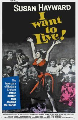 """Постер к фильму """"Я хочу жить"""" /I Want to Live!/ (1958)"""