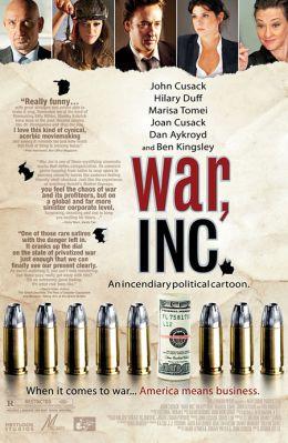 """Постер к фильму """"Игра по-крупному"""" /War, Inc./ (2008)"""