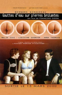 "Постер к фильму ""Капли дождя на раскаленных скалах"" /Gouttes d'eau sur pierres brulantes/ (1999)"