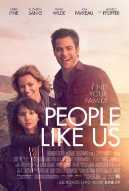 """Постер к фильму """"Люди как мы"""" /People Like Us/ (2012)"""
