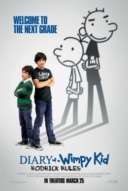 "Постер к фильму ""Дневник слабака 2"" /Diary of a Wimpy Kid 2: Rodrick Rules/ (2011)"