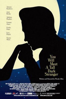 """Постер к фильму """"Ты встретишь таинственного незнакомца"""" /You Will Meet a Tall Dark Stranger/ (2010)"""
