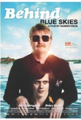 """Постер к фильму """"За голубыми небесами"""" /Himlen ar oskyldigt bla/ (2010)"""