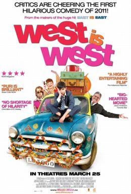 """Постер к фильму """"Запад есть Запад"""" /West Is West/ (2010)"""