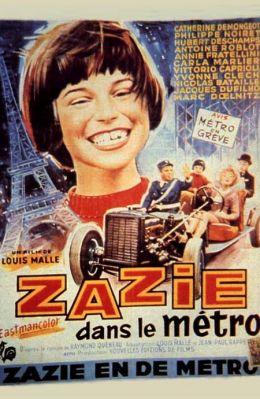 """Постер к фильму """"Зази в метро"""" /Zazie dans le metro/ (1960)"""