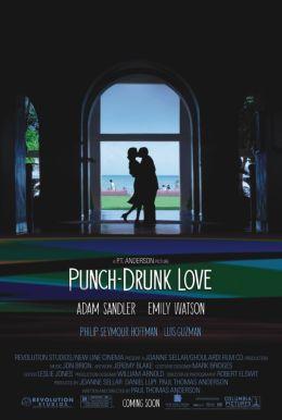 """Постер к фильму """"Любовь, сбивающая с ног"""" /Punch-Drunk Love/ (2002)"""