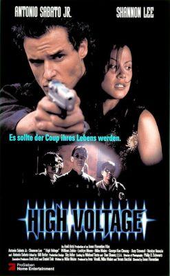 """Постер к фильму """"Высокое напряжение"""" /High Voltage/ (1997)"""