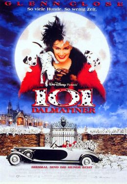 """Постер к фильму """"101 далматинец"""" /101 Dalmatians/ (1996)"""