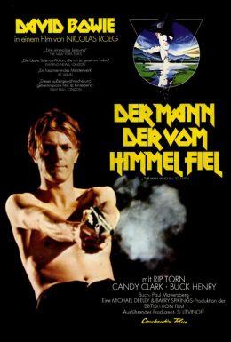 "Постер к фильму ""Человек, который упал на землю"" /The Man Who Fell to Earth/ (1976)"