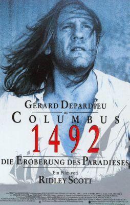 """Постер к фильму """"1492: Завоевание рая"""" /1492: Conquest of Paradise/ (1992)"""