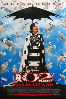 """Постер к фильму """"102 далматинца"""" /102 Dalmatians/ (2000)"""