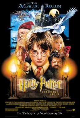 """Постер к фильму """"Гарри Поттер и философский камень"""" /Harry Potter and the Sorcerer's Stone/ (2001)"""