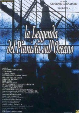 """Постер к фильму """"Легенда о пианисте"""" /La leggenda del pianista sull'oceano/ (1998)"""