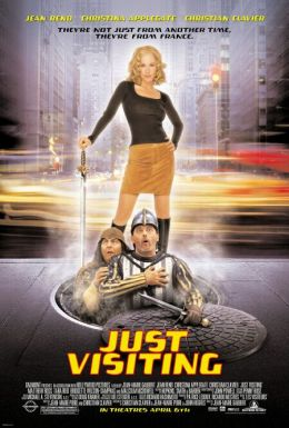 """Постер к фильму """"Пришельцы в Америке"""" /Just Visiting/ (2001)"""