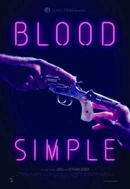 """Постер к фильму """"Просто кровь"""" /Blood Simple./ (1984)"""