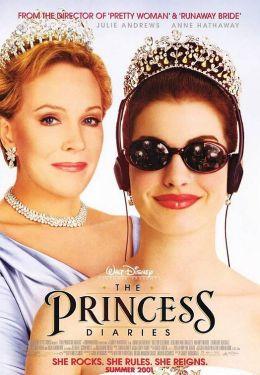 """Постер к фильму """"Как стать принцессой"""" /The Princess Diaries/ (2001)"""