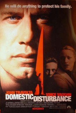 """Постер к фильму """"Скрытая угроза"""" /Domestic Disturbance/ (2001)"""