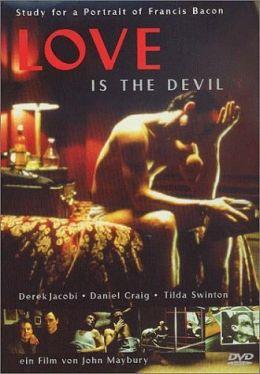 """Постер к фильму """"Любовь - это дьявол"""" /Love Is the Devil/ (1998)"""