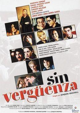 """Постер к фильму """"Без стыда"""" /Sin verguenza/ (2001)"""