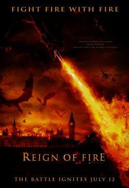 """Постер к фильму """"Власть огня"""" /Reign of Fire/ (2002)"""