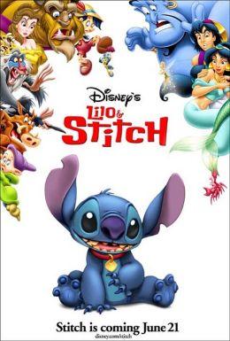 """Постер к фильму """"Лило и Стич"""" /Lilo & Stitch/ (2002)"""