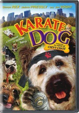 """Постер к фильму """"Пес-каратист"""" /The Karate Dog/ (2004)"""