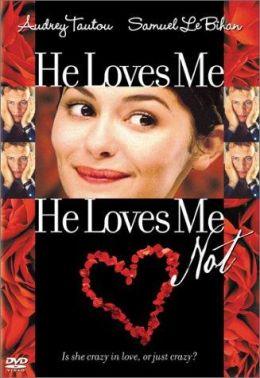 "Постер к фильму ""Любит - не любит"" /He loves me, he loves me not/ (2002)"