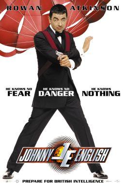 "Постер к фильму ""Агент Джонни Инглиш"" /Johnny English/ (2003)"
