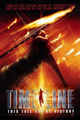 """Постер к фильму """"В ловушке времени"""" /Timeline/ (2003)"""