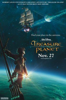 "Постер к фильму ""Планета сокровищ"" /Treasure Planet/ (2002)"