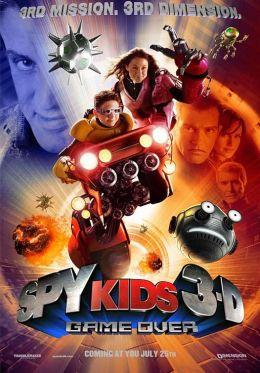Дети шпионов 3-D: Игра окончена
