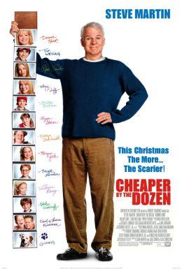 "Постер к фильму ""Оптом дешевле"" /Cheaper by the Dozen/ (2003)"
