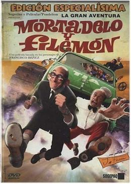 """Постер к фильму """"Приключения Мортадело и Филимона"""" /La Gran aventura de Mortadelo y Filemon/ (2003)"""