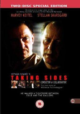 """Постер к фильму """"Мнения сторон"""" /Taking Sides/ (2001)"""