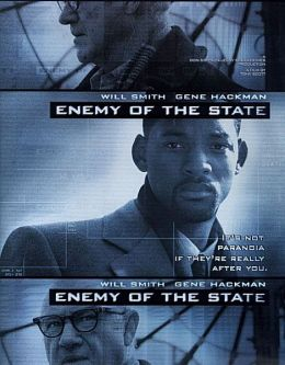 "Постер к фильму ""Враг государства"" /Enemy of the State/ (1998)"