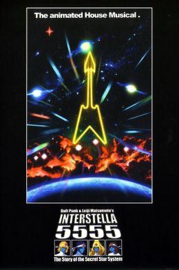 """Постер к фильму """"Интерстелла 5555"""" /Interstella 5555: The 5tory of the 5ecret 5tar 5ystem/ (2003)"""