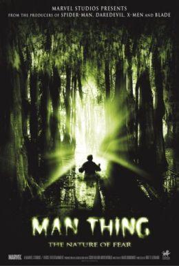 """Постер к фильму """"Леший: природа страха"""" /Man-Thing/ (2005)"""