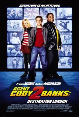 """Постер к фильму """"Агент Коди Бэнкс 2: Пункт назначения - Лондон"""" /Agent Cody Banks 2: Destination London/ (2004)"""