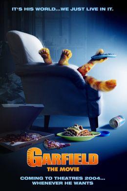 """Постер к фильму """"Гарфилд"""" /Garfield/ (2004)"""