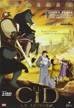 """Постер к фильму """"Легенда о рыцаре"""" /El Cid: La leyenda/ (2003)"""