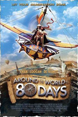"""Постер к фильму """"Вокруг света за 80 дней"""" /Around the World in 80 Days/ (2004)"""