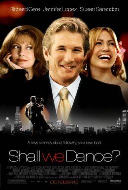 """Постер к фильму """"Давайте потанцуем"""" /Shall We Dance?/ (2004)"""